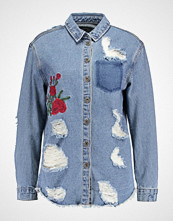 Only ONLNAVAHO  Skjorte medium blue denim