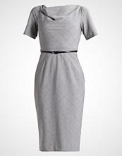 Dorothy Perkins POW CHECK BELTED PENCIL Hverdagskjole grey