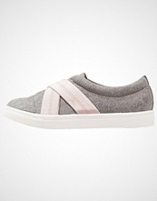 Lost Ink NARA CONTRAST ELASTIC SLIP ON Slippers grey
