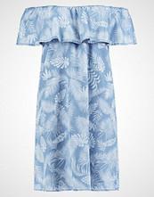 Dorothy Perkins PALM TREE BARDOT Sommerkjole blue