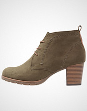 Marco Tozzi Ankelboots olive