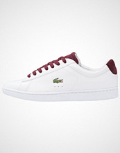 Lacoste CARNABY EVO  Joggesko white/red