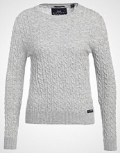 Superdry LUXE MINI CABLE  Jumper grey marl