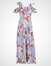 Dorothy Perkins FLORAL COLD SHOULDER  Fotsid kjole purple
