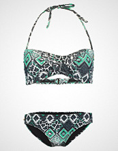Chiemsee EBONY Bikini black/green