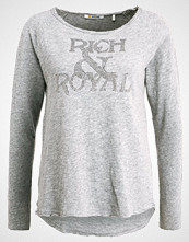 Rich & Royal GLAM Topper langermet grey melange