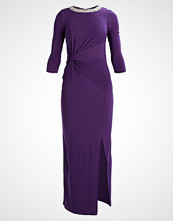 Dorothy Perkins EMBELLISHED NECK Jerseykjole purple