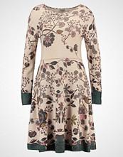 Ivko FLORAL Strikket kjole beige