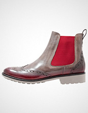 Melvin & Hamilton AMELIE 5 Ankelboots morning grey/shade/rich red