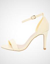 New Look Wide Fit WIDE FIT SENSIBLE 3 Sandaler med høye hæler bright yellow
