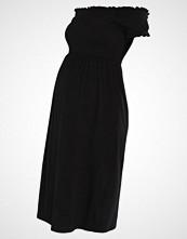 New Look Maternity SHIRRED BARDOT Jerseykjole black