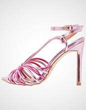 BEBO BAYLEE Sandaler med høye hæler hot pink/light pink