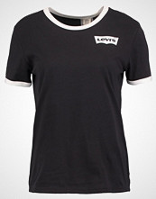 Levi's PERFECT RINGER Tshirts med print black/white