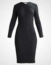 IVY & OAK WRAP Strikket kjole dark grey melange