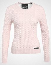 Superdry LUXE MINI CABLE  Jumper blush marl
