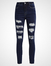 Missguided SINNER EXTREME RIPPED  Jeans Skinny Fit blue