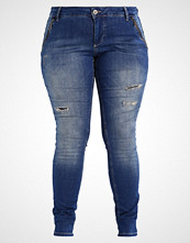 Zizzi SANNA Jeans Skinny Fit blue denim