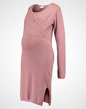 Mamalicious MLZOLANDA TESS  Strikket kjole old rose