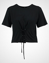 Missguided CORSET DETAIL  Tshirts med print black