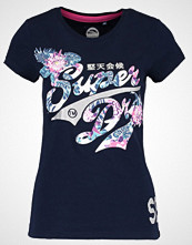 Superdry STACKER JUNGLE Tshirts med print navy