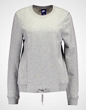 Nike Sportswear Genser dark grey heather/matte silver/white