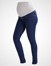 Mamalicious MLJULIA  Slim fit jeans med blue denim