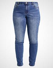 Junarose JRFIVE STRIPE TRIM Slim fit jeans medium blue denim
