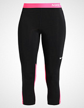 Nike Performance PRO DRY 3/4 sports trousers black/racerpink