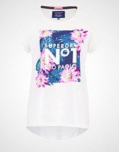 Superdry TROPICAL Tshirts med print jungle white