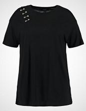 New Look Curves RING SLASH Tshirts med print black