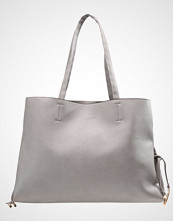 New Look LACE UP DETAIL TOTE      Håndveske grey
