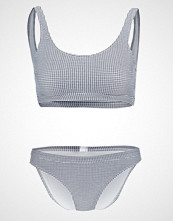 Even&Odd GINGHAM  Bikini white/black