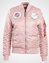 Alpha Industries Bombejakke silver pink