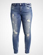 Junarose JRFIVE Slim fit jeans dark blue denim