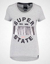Superdry STATE Tshirts med print grey grit