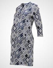 LOVE2WAIT Strikket kjole blue/offwhite