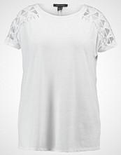 New Look Curves MACRAME SHOULDER Tshirts med print white
