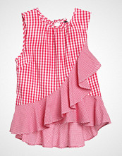 New Look GINGHAM RUFFLE Bluser pink