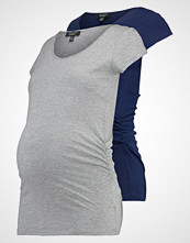 New Look Maternity 2 PACK Tshirts grey/navy