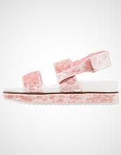 Lost Ink CIARA CRUSHED  Platåsandaler pink