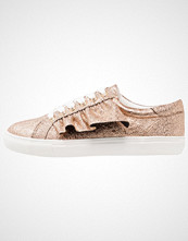 Missguided RUFFLE SIDE LACE UP Joggesko rose gold