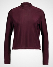 Lost Ink SLINKY TURTLENECK Topper langermet burgundy