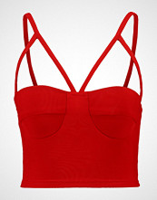 New Look GO STRAP DETAIL CROP Topper red