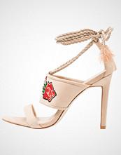 BEBO BAIZE Sandaler med høye hæler nude