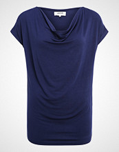 Zalando Essentials WATERFALL NECKLINE Tshirts med print dark blue