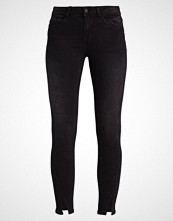Noisy May NMLUCY TWIST SLIT ANKLE  Jeans Skinny Fit black