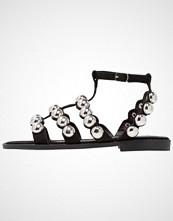 BEBO BLU  Sandaler black/silver
