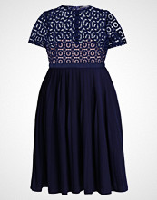 Little Mistress Curvy CROCHET PROM Cocktailkjole navy
