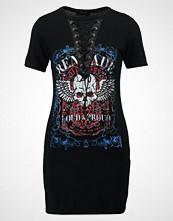 New Look Petite LACE UP ROCK Jerseykjole black
