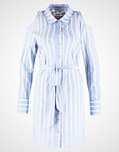 Warehouse STRIPE SLEEVE Kjole blue/white